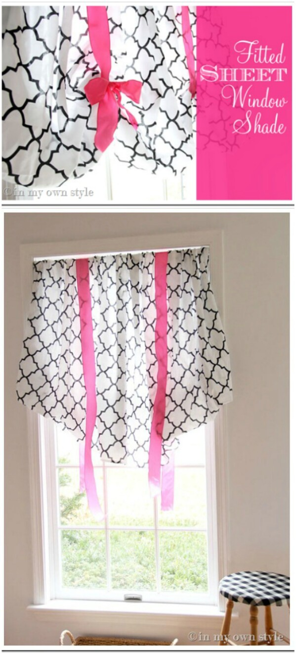 Fitted Sheet Window Shade