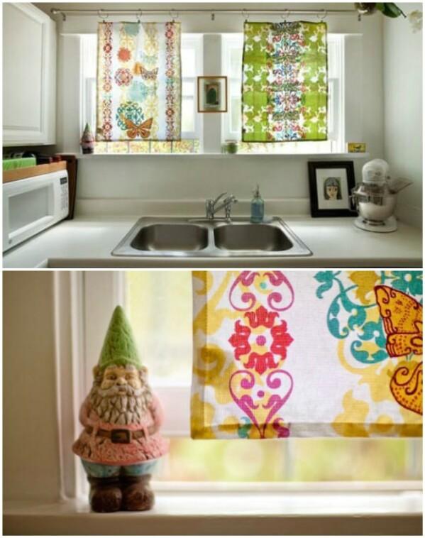 Tea Towel Curtains